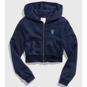 Earth Day: Planet Friendly Crop Hoodie NWT